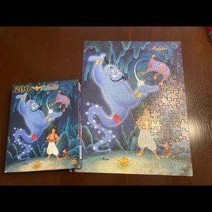 Disney Aladdin 200 piece puzzle